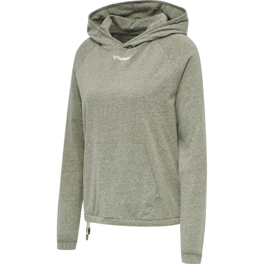 Hummel Zandra hoodie dame grønn