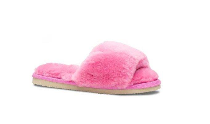 Lune slippers dame rosa