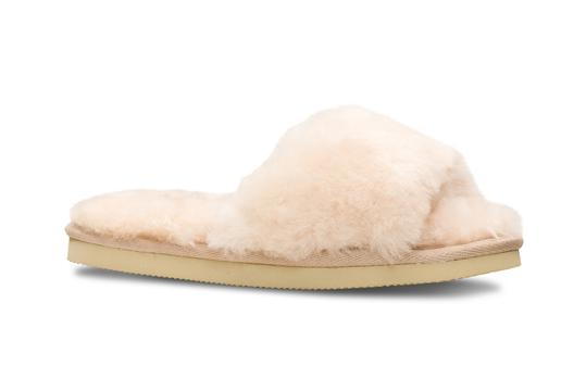 Lune Slippers dame beige