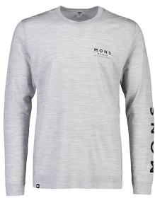 Mons Royale Mens Icon LS grey