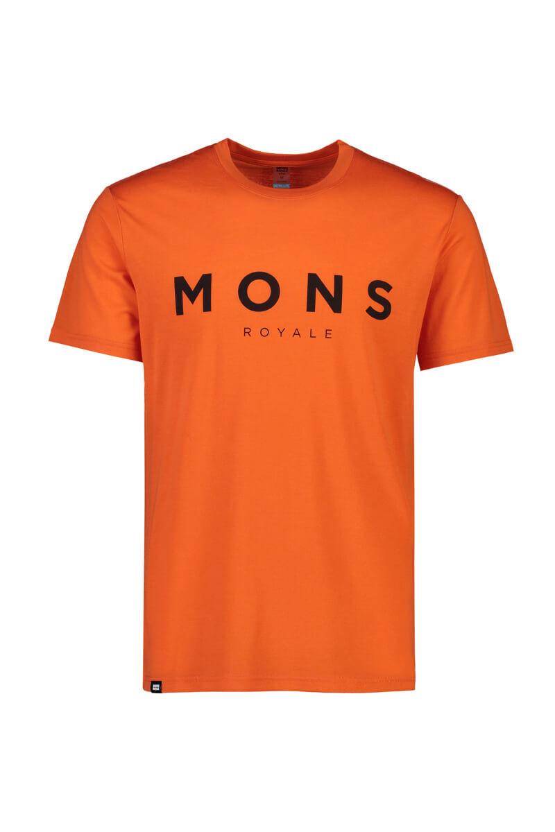 Mons Royale Men Icon t-shirt orange
