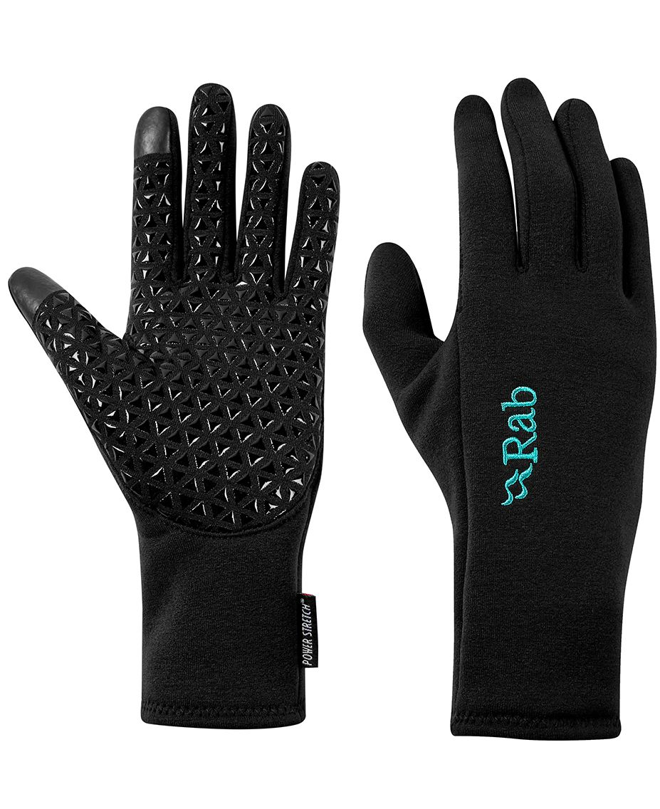 Rab Power stretch contact grip gloves W