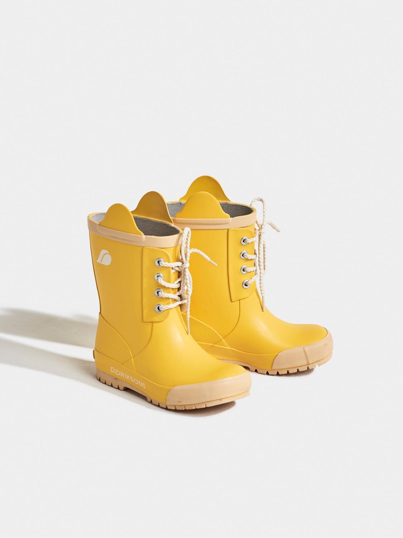 Didriksons Splashman kids gummistøvel gul