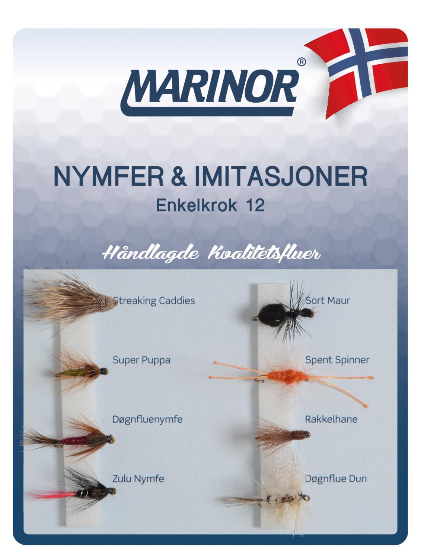 Fluesett Marinor Nymfer & imit