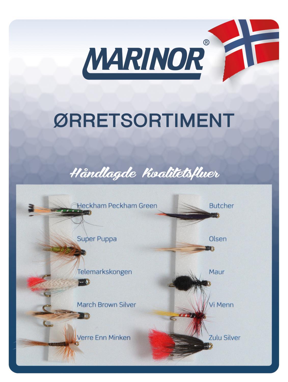 Fluesett Marinor Ørret