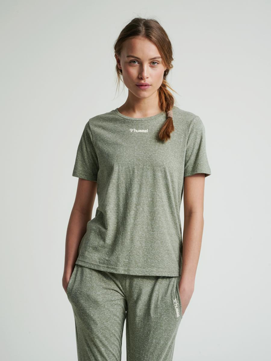 Hummel Zandra t-shirt W green