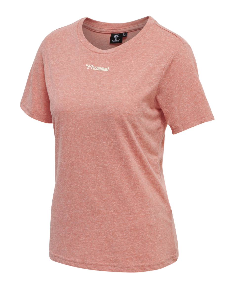 Hummel Zandra t-shirt Coral