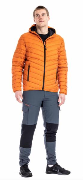 Move on Røros dunjakke m/hette orange