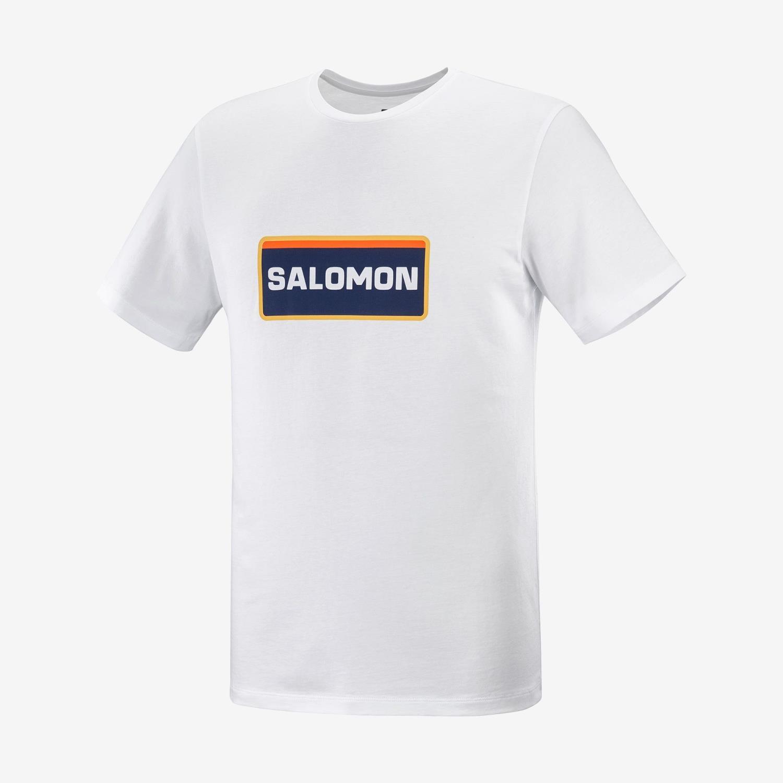 Salomon Outlife Graphic Heritage White T-shirt