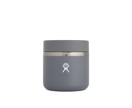 Hydroflask 20 oz insulated food jar grey