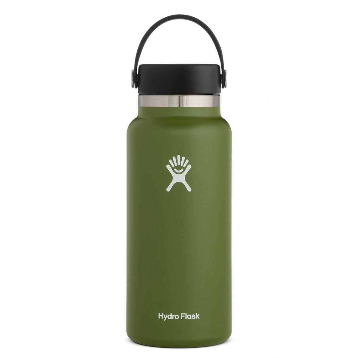 Hydroflask 32 oz flex cap olive