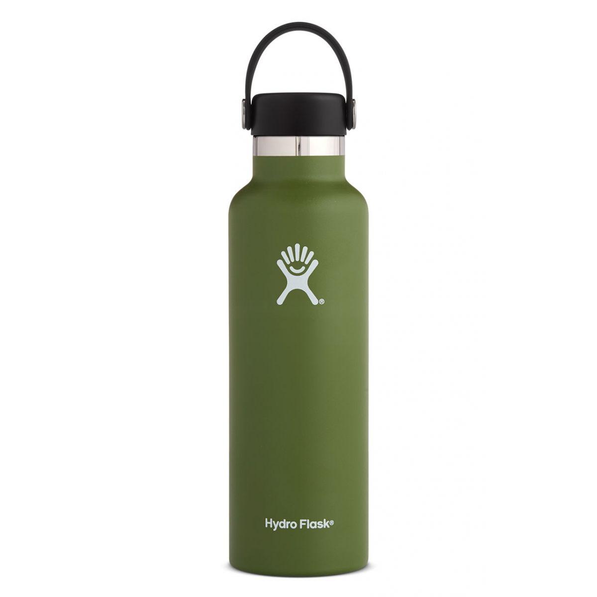 Hydroflask 21 oz standard cap olive