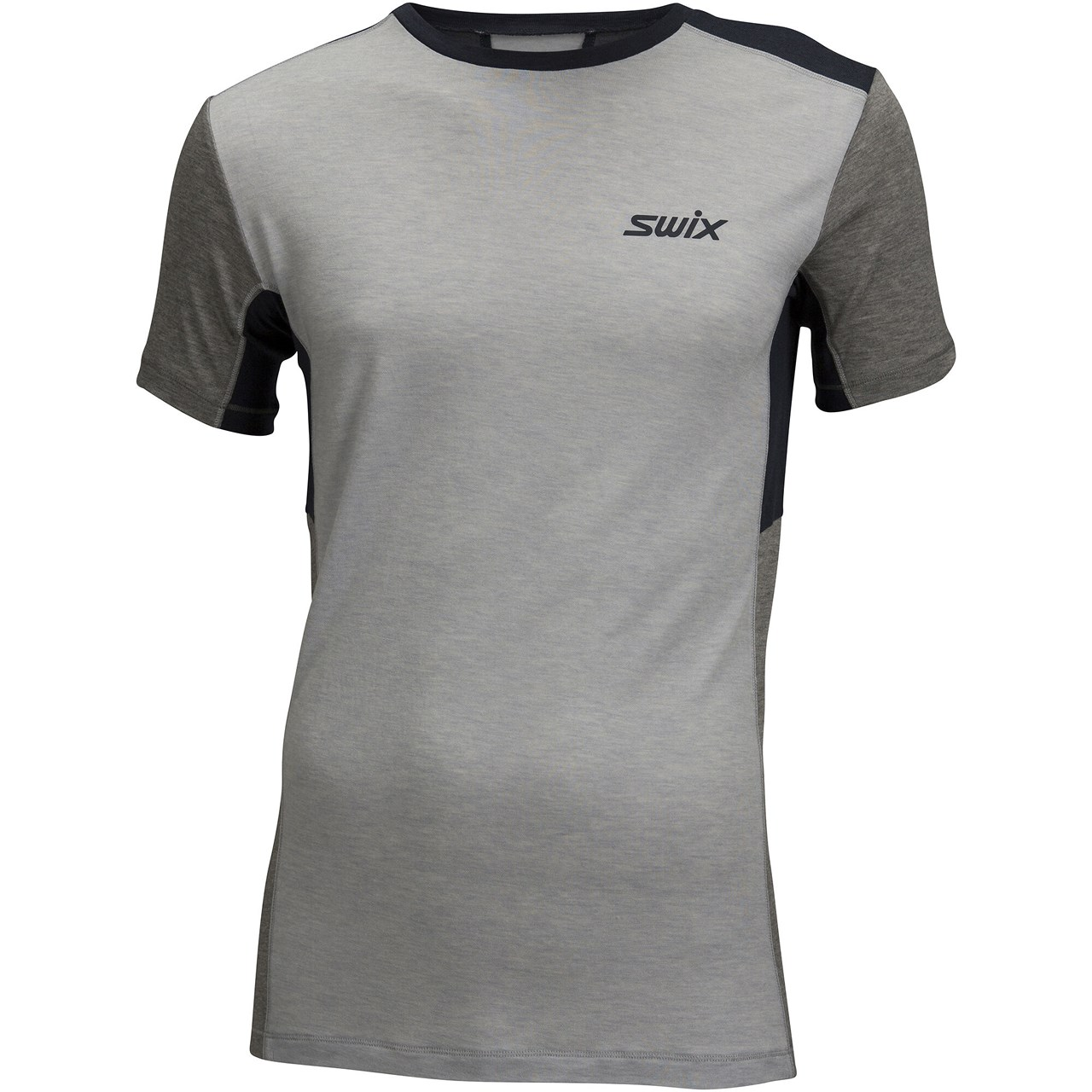 Swix Motion tech wool t-shirt M grey