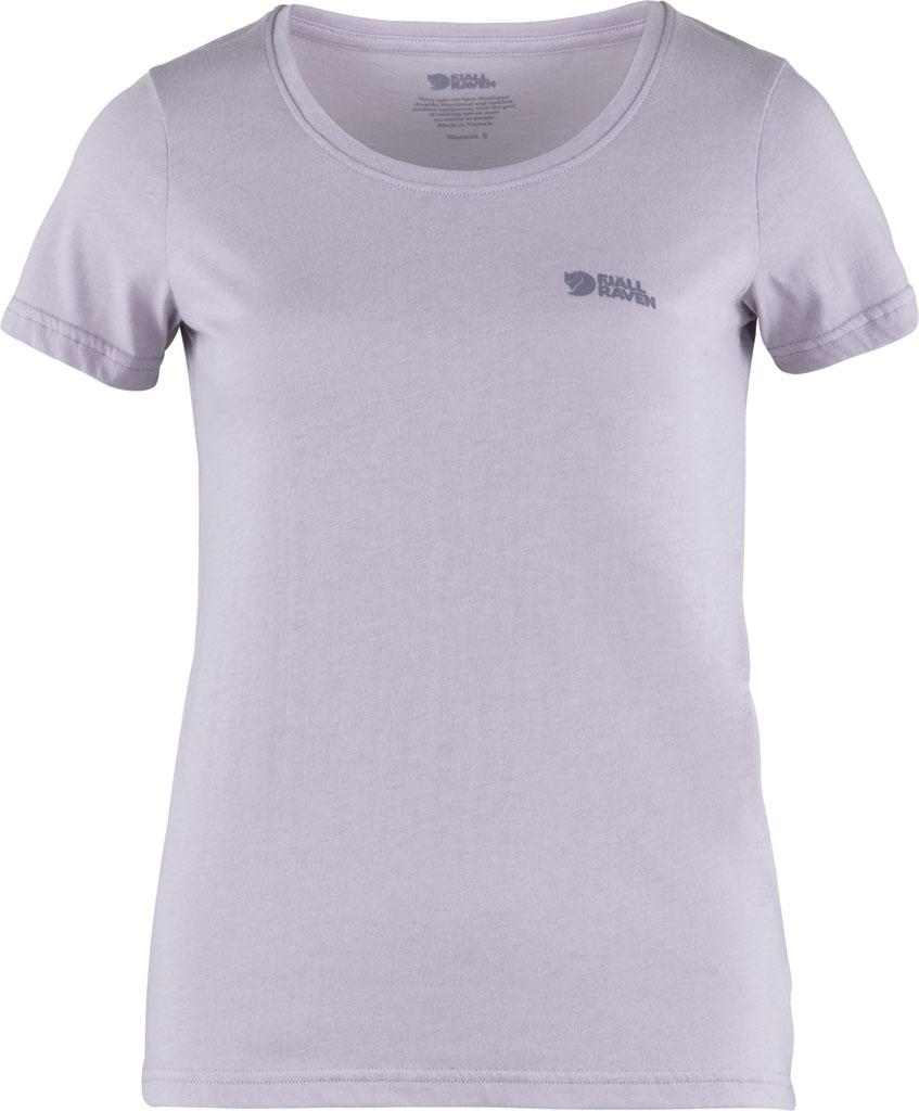 Fjällräven Logo t-shirt W lavender