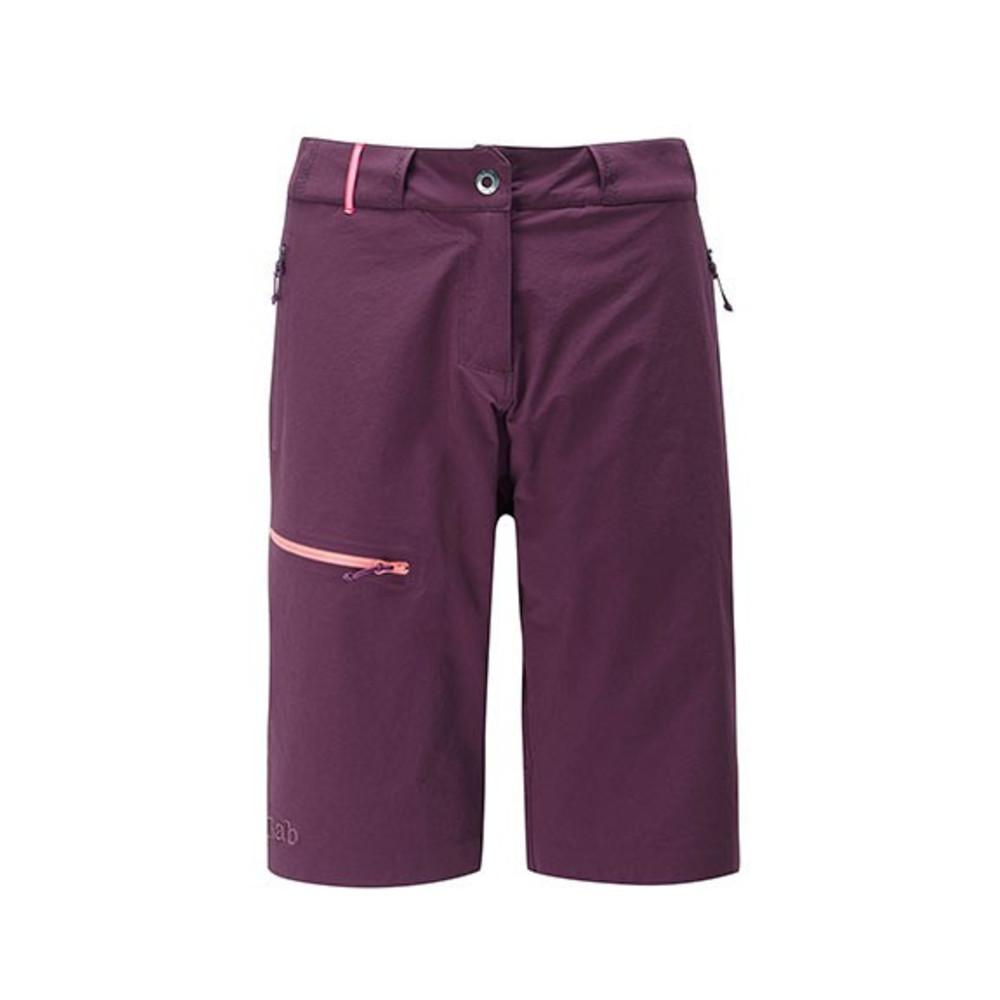 Rab Raid shorts W eggplant
