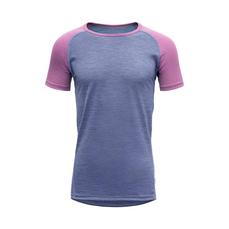 Devold Breeze junior t-shirt bluebell