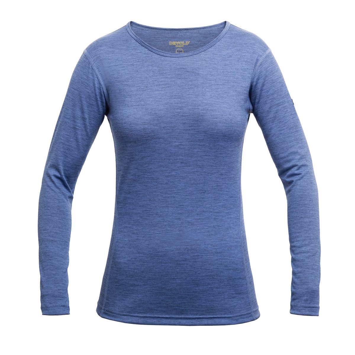 Devold Breeze women shirt bluebell
