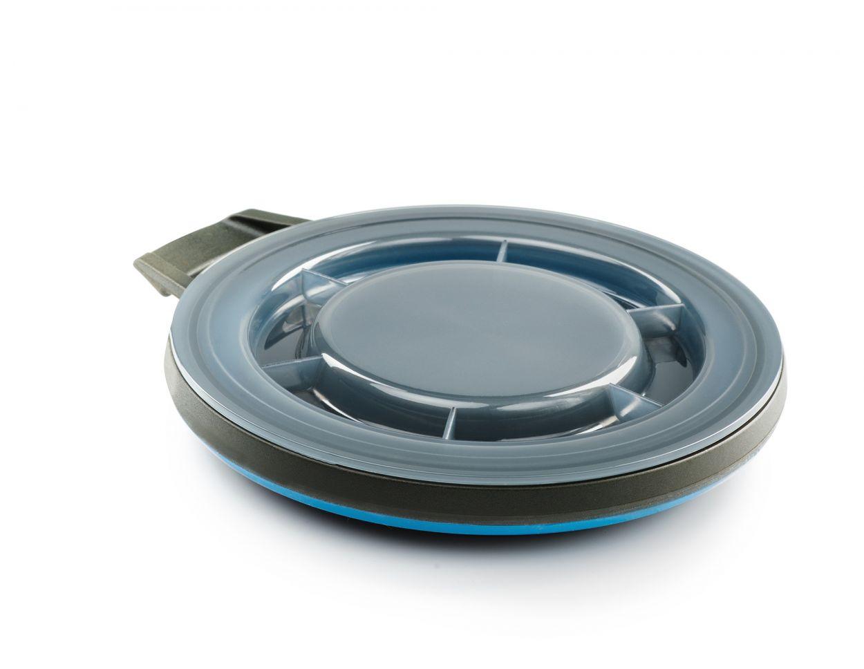 GSI Escape bowl + lid 650 ml blue