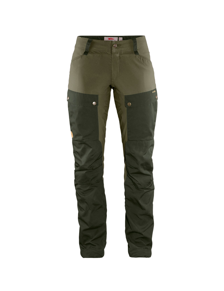Fjällräven Keb trousers curved W green