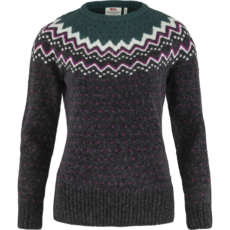 Fjällräven Övik knit sweater green