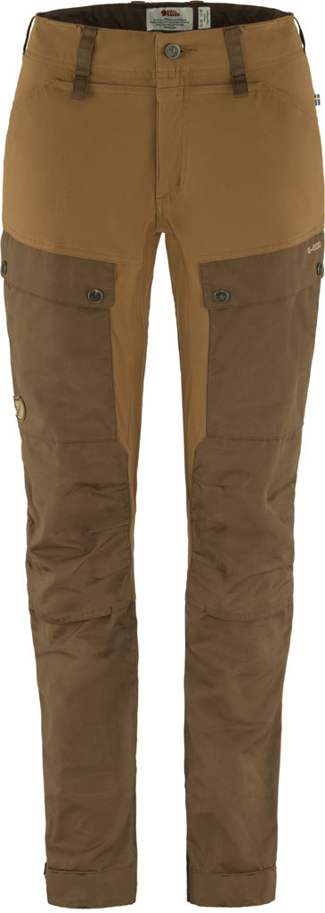 Fjällräven Keb trousers curved W Timber Brown-Chestnut