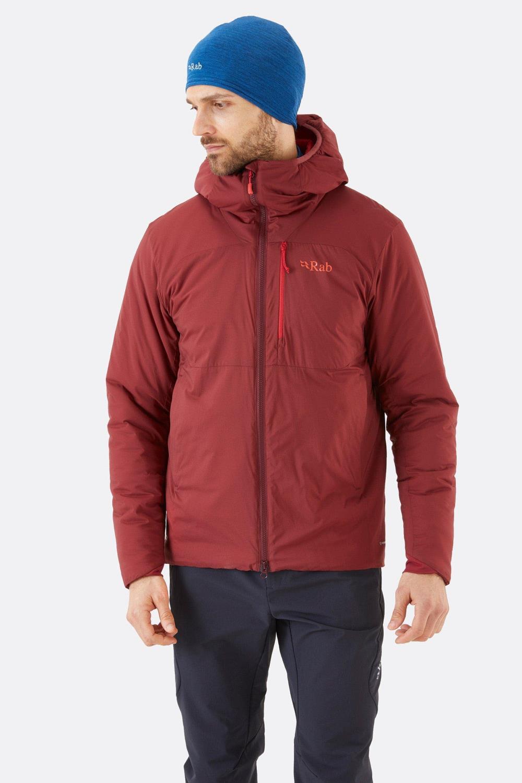 Rab Xenair alpine jtk oxblood red