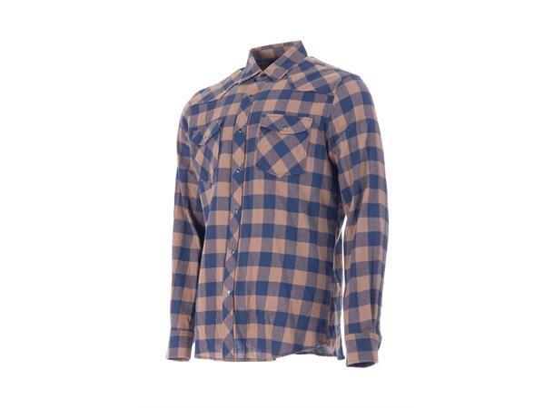 Move on Heddal flanellskjorte wood