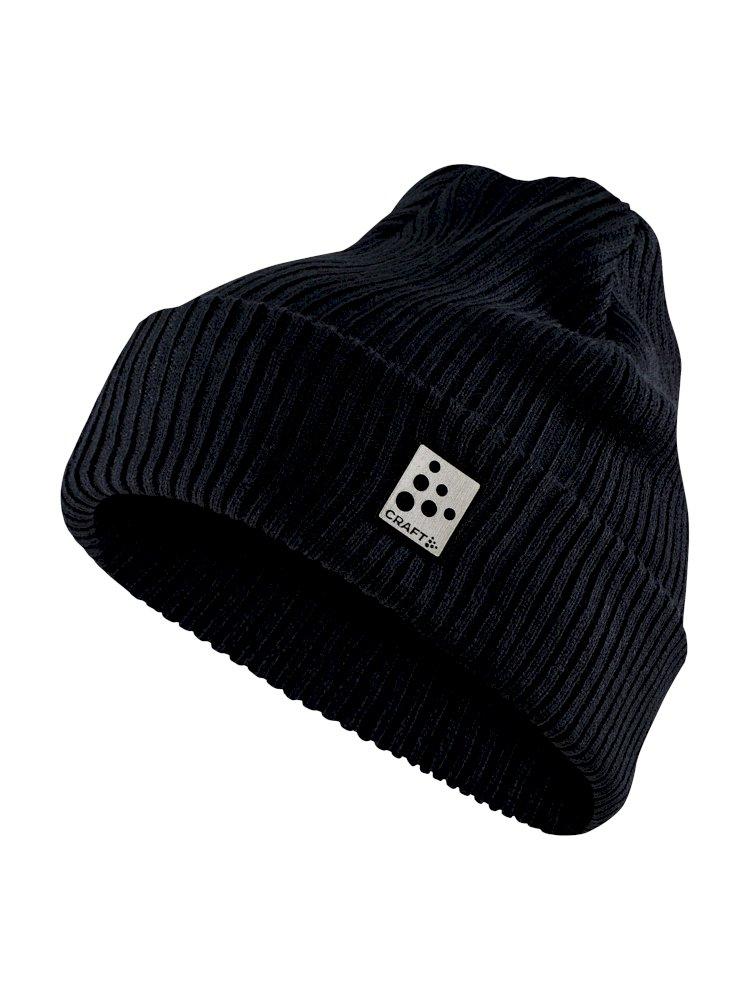Craft Core rib knit hat blaze
