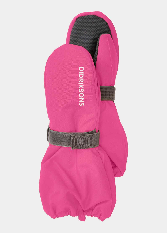 Didriksons Biggles mitten pink