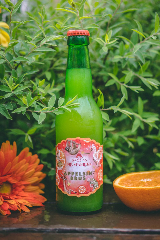 Appelsin Grimstad brusfabrikk