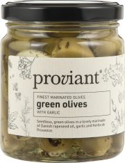 Grønn oliven m/Hvitløk