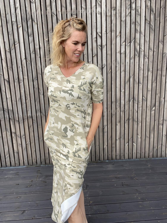 Liva CR Long Dress