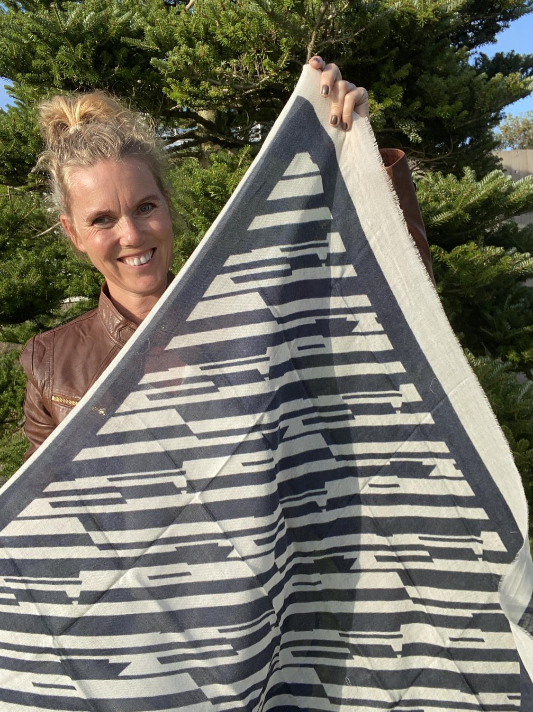 Claire Skjerf diogonale striper