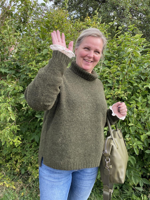 The Knit Rollneck grønn