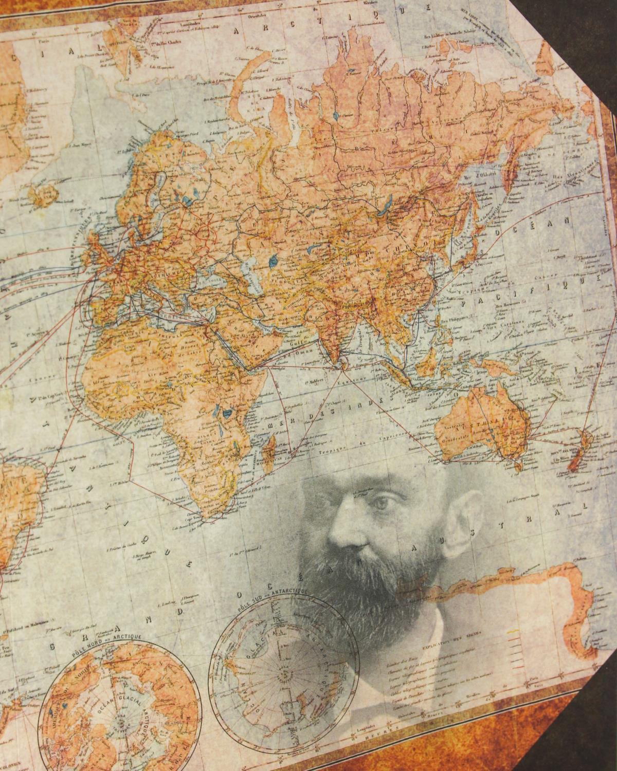 Alfred Nobel Map Notebook