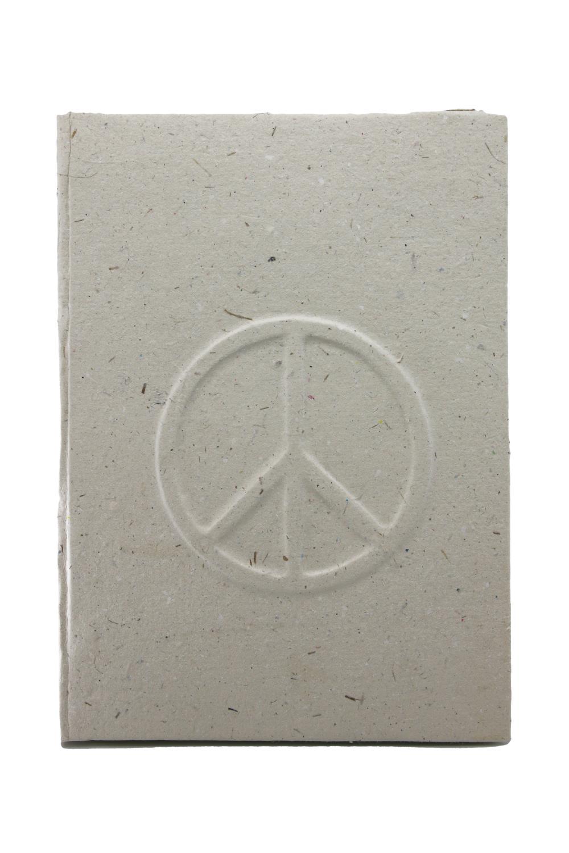 Elecosy notebook Peace white