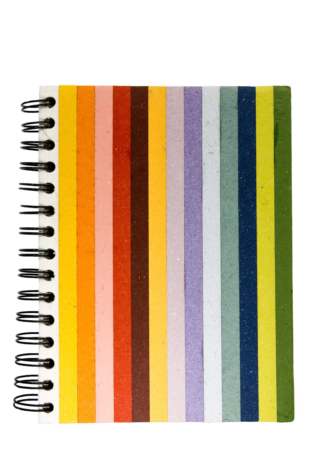 Elecosy spiral notebook large Rainbow