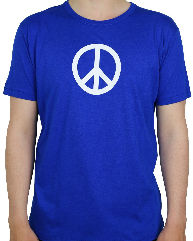 T-shirt Midnight Blue Peace