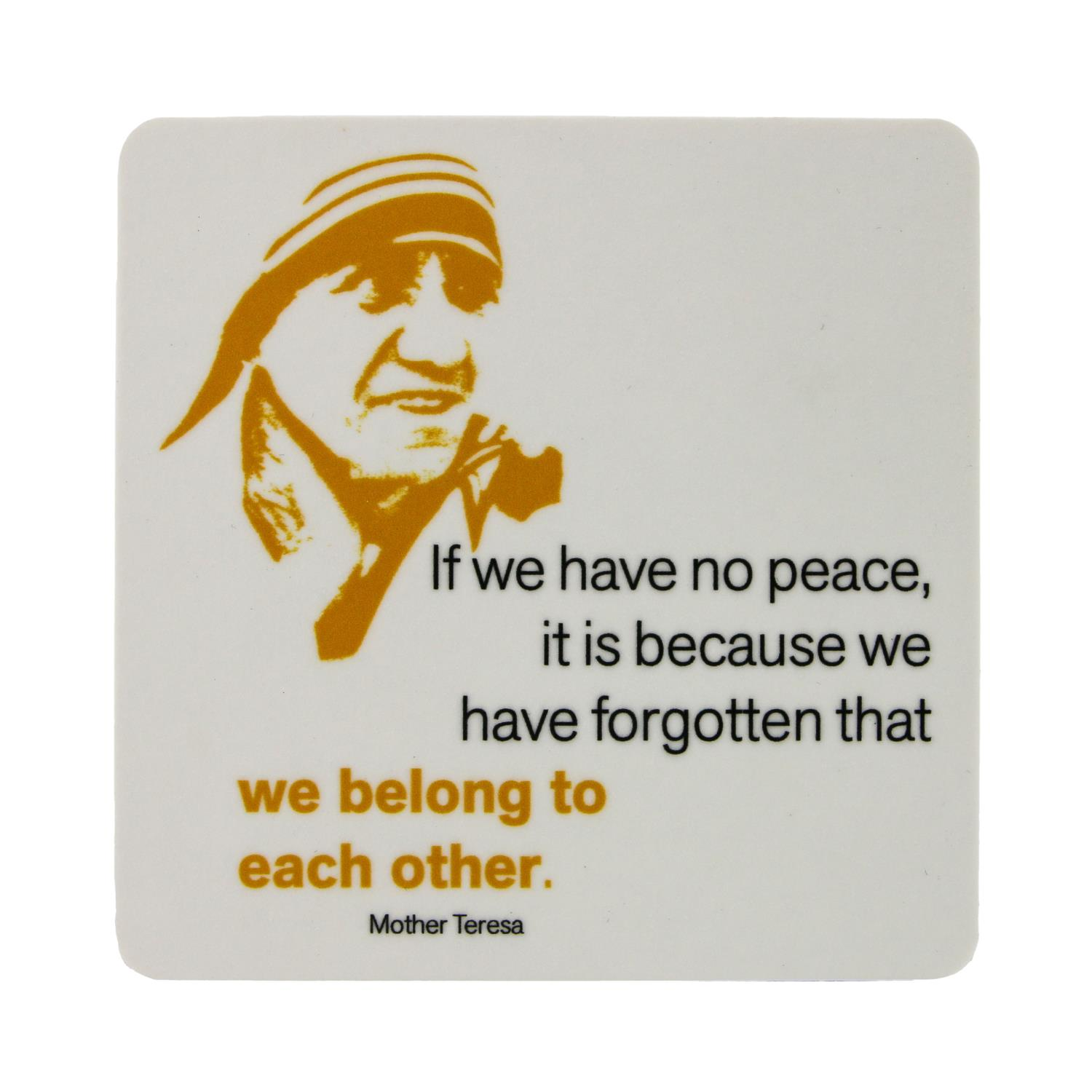 Mother Teresa Coaster