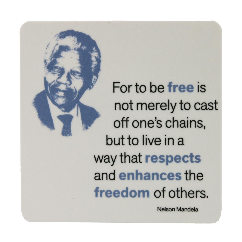 Nelson Mandela Coaster