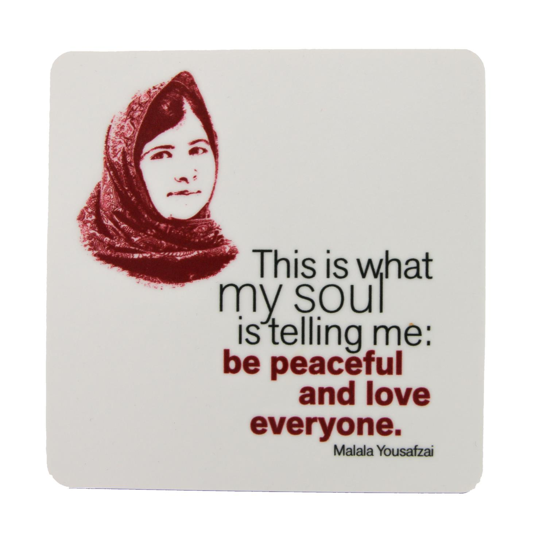 Malala Yousafzai Coaster