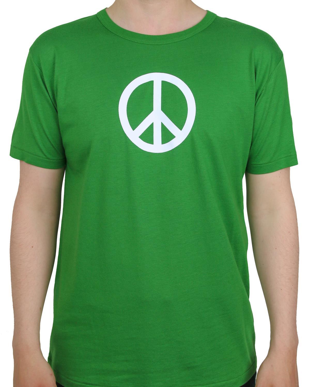 T-shirt Leaf Green Peace