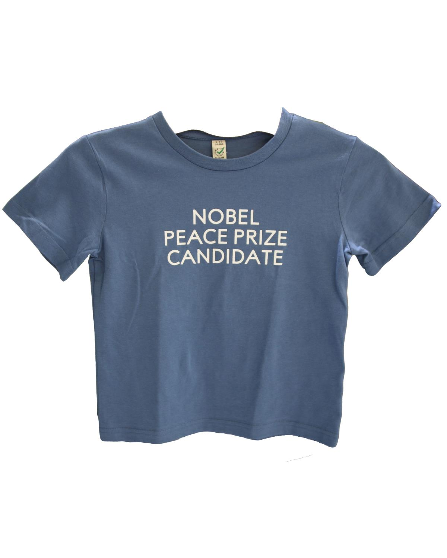 Children's T-shirt Nobel Peace Prize Candidate Denim Blue