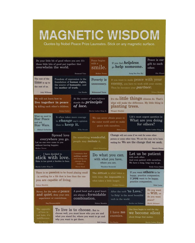 Magnetsett Magnetic wisdom