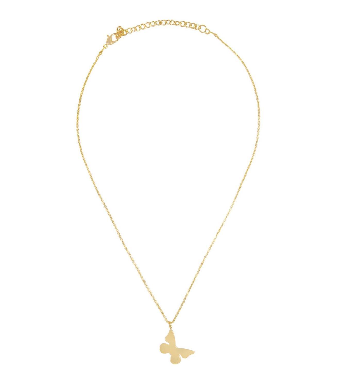 Breeze Necklace Goldtoned Brass