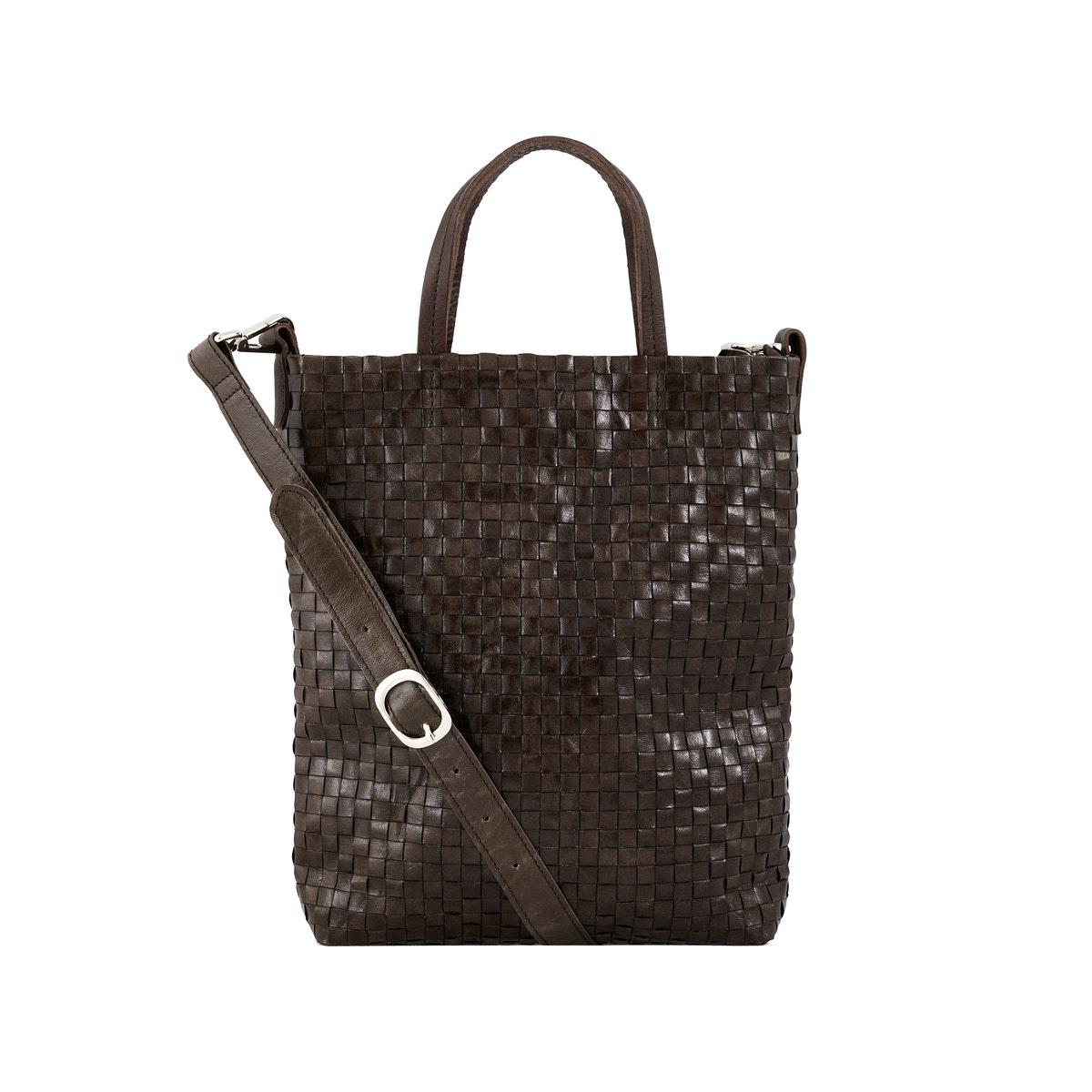 Uashmama Otti Handbag Weaved Caffe