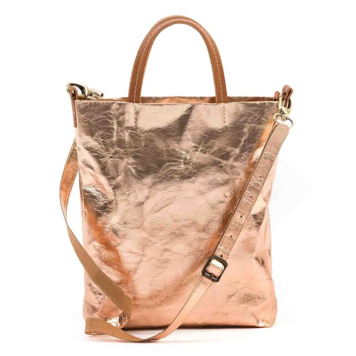 Uashmama Otti Handbag Metallic Rose