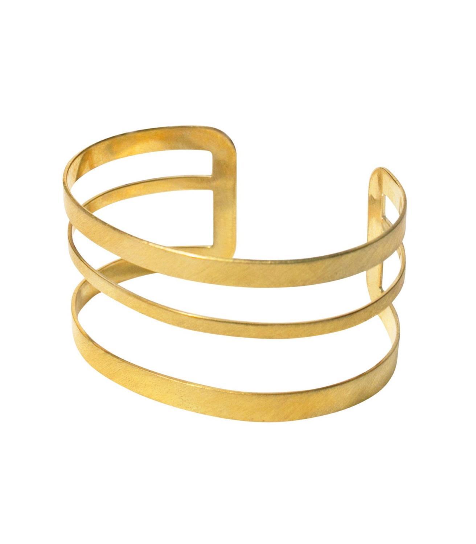 Mojave Bracelet Goldtoned Brass