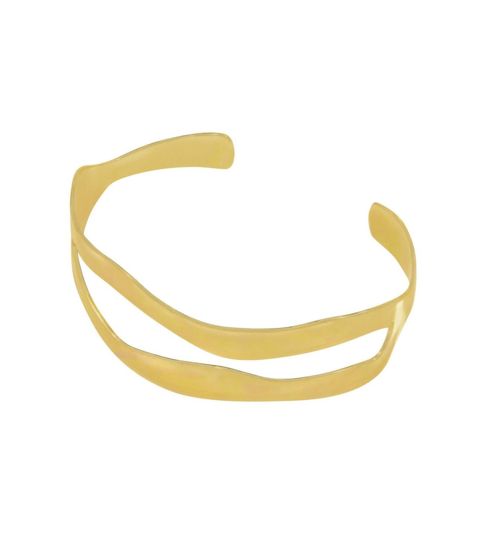 Tides Bracelet Goldtoned Brass