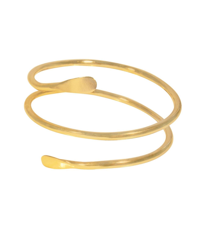 Goldie Bracelet Goldtoned Brass